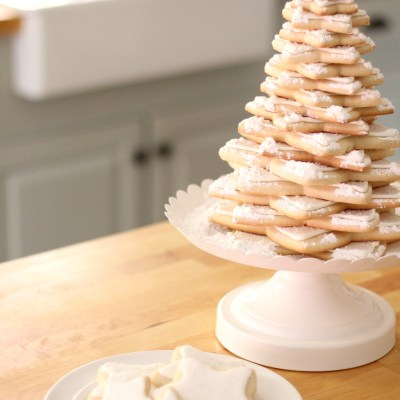 Easy Sugar Cookie Tree