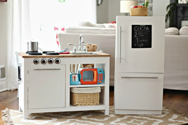 Modern Farmhouse Kids Kitchen Set Sincerely Marie Designs