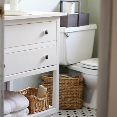 Our Budget-Friendly Guest Bath Update