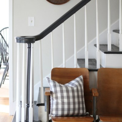 A Budget Friendly Staircase Makeover