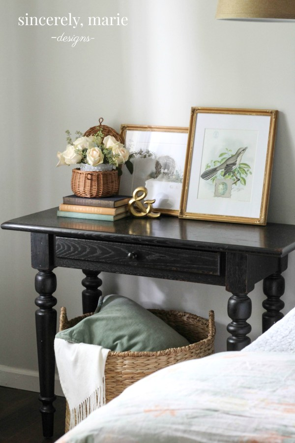 Simple Nightstand Styling Tips