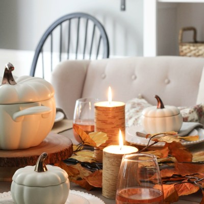 A Fall Tablescape Reminiscent of Falls Past