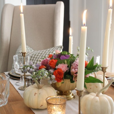 An Intimate & Timeless Thanksgiving Tablescape