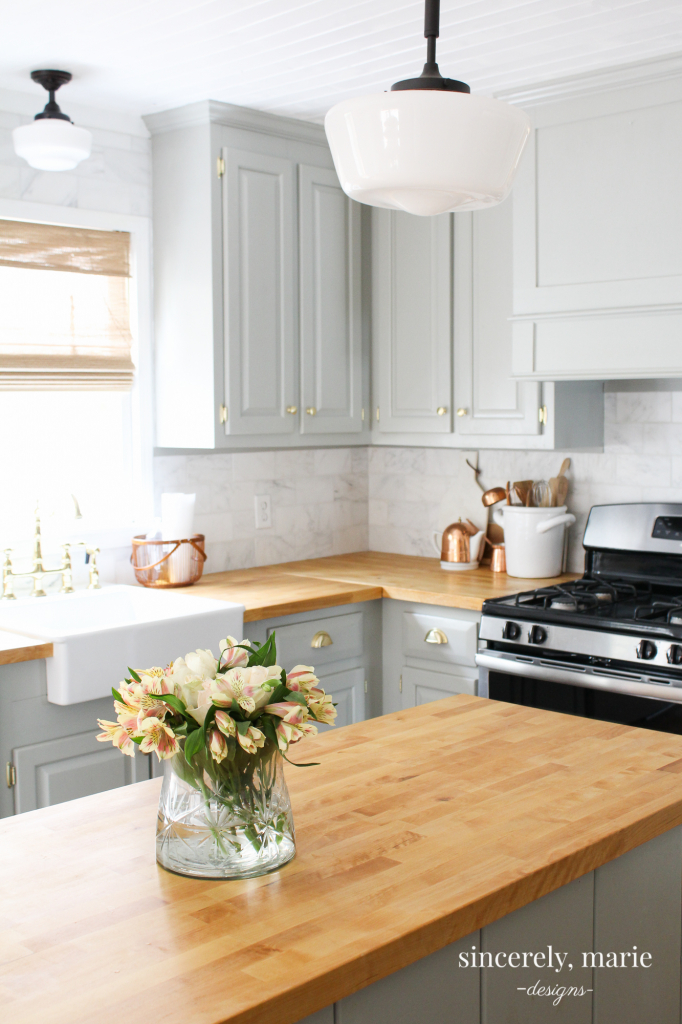 Our Butcher Block Counter Top Review One Year Later