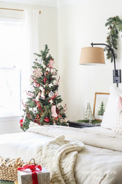 How to Turn a Skimpy Cheap Tree into a Full & Elegant One