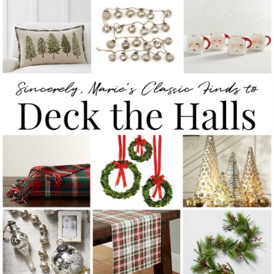 Sincerely, Marie's Classic Finds to Deck the Halls
