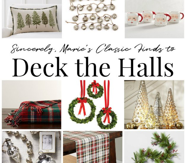 a shopping guide to deck the halls