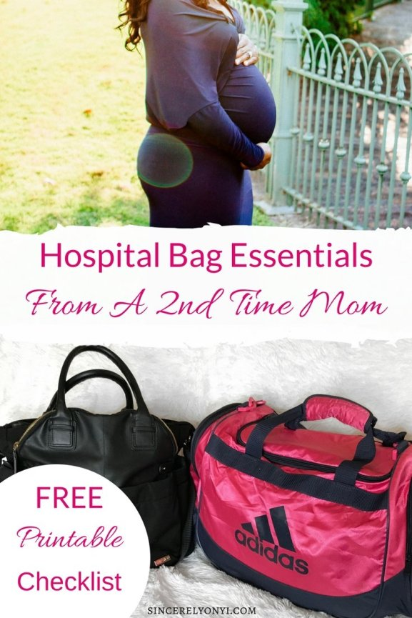 Essentials For Your Hospital Bag From A 2nd Time Mom Sincerely Onyi