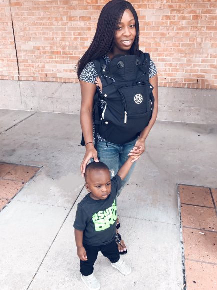 toddler 2 under 2 lillie baby carrier san antonio african american motherhood blogger