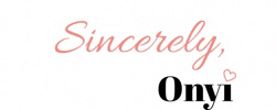 sincerely onyi signature