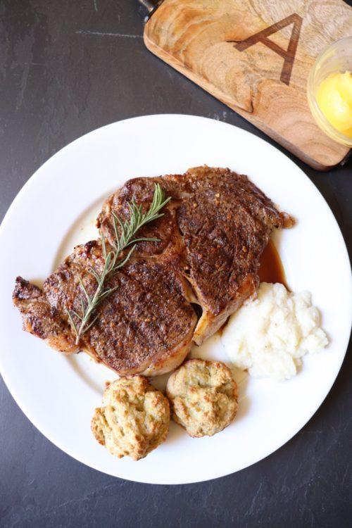The Best Ketogenic Friendly Steak Dinner
