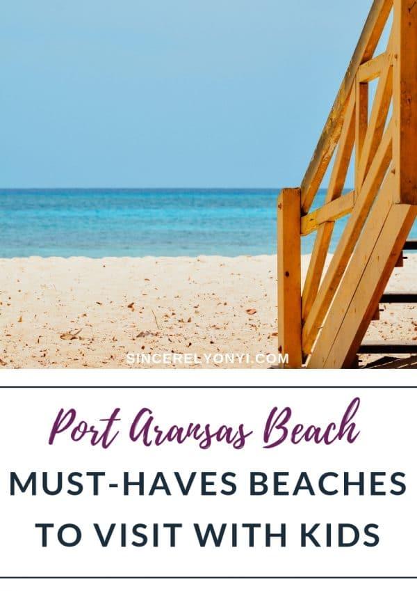 Port Aransas Beach Vlog   Dad's Beach Must Haves With Kids