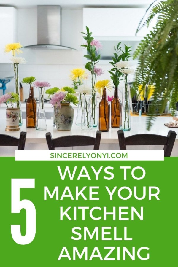 Are you after a kitchen that smells amazing? With these fresh ideas you kitchen will smell amazing in no time!