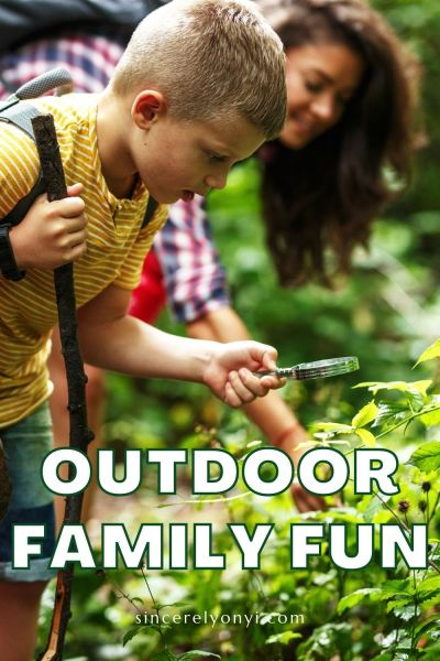 Outdoor Family Fun With Academy