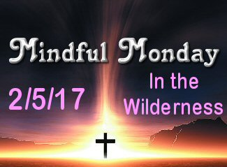 Mindful Monday Devotional – In The Wilderness