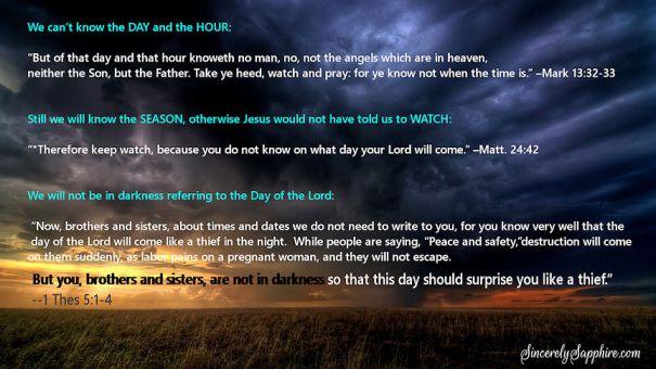 The Rapture MIGHT Happen Monday