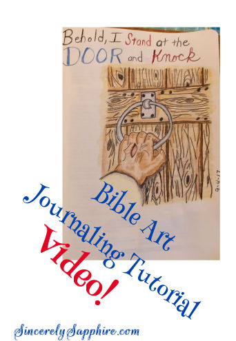 Bible Art Journaling Tutorial for Amateurs and Non-Artists