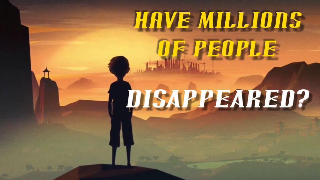 Have Many People Disappeared?  Read this!