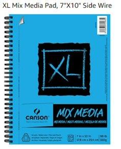 Mixed Media Spiral bound