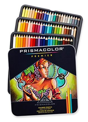 Prismacolor Colored Pencils 72 count