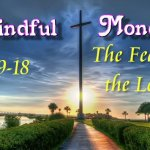 Mindful Monday Devotional - The Fear of the Lord