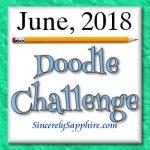 June 2018 Doodle Challenge Banner
