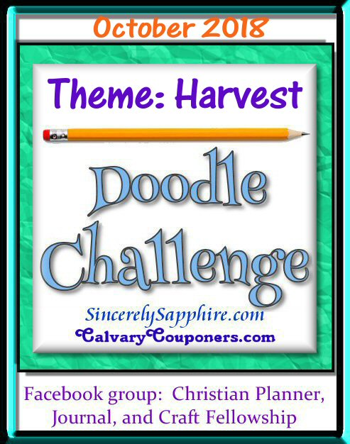 Doodle Challenge October 2018 Theme Harvest