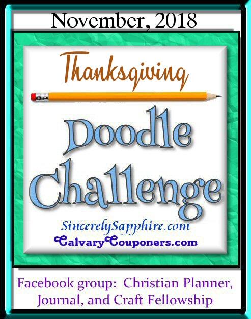 Doodle Challenge for November 2018
