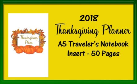 Thanksgiving Planner A5