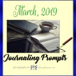 March 2019 Journaling Prompt Plan