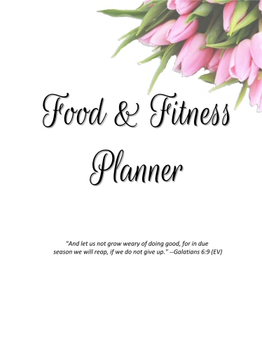 Freebie Friday Food and Fitness Starter Pages!