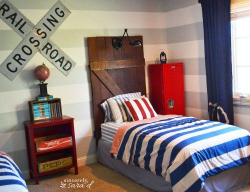 Barn Door Headboard 12