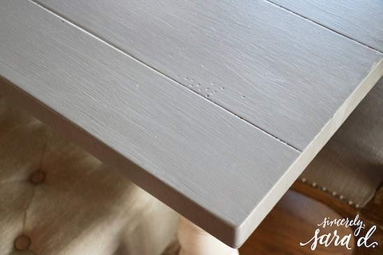 Kitchen Table - One Step Paint