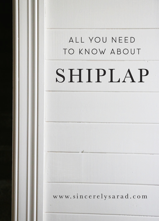 All You Need to Know About Shiplap