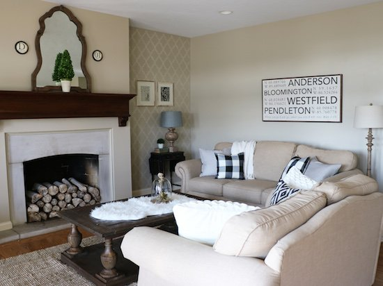 Living Room Neutral Decor