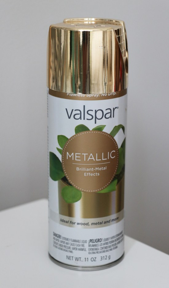 Valspar Gold Spray Paint