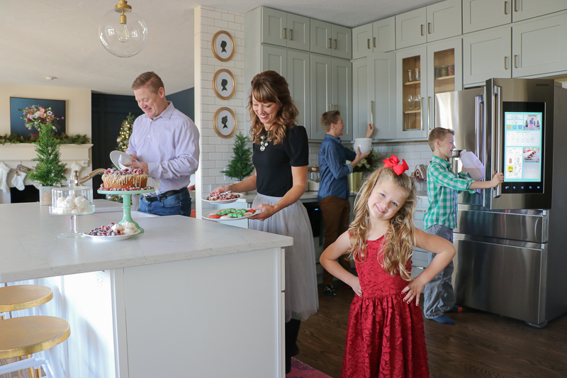 DIY kitchen remodel reveal with the home depot