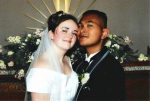 Piset and Melissa 1999