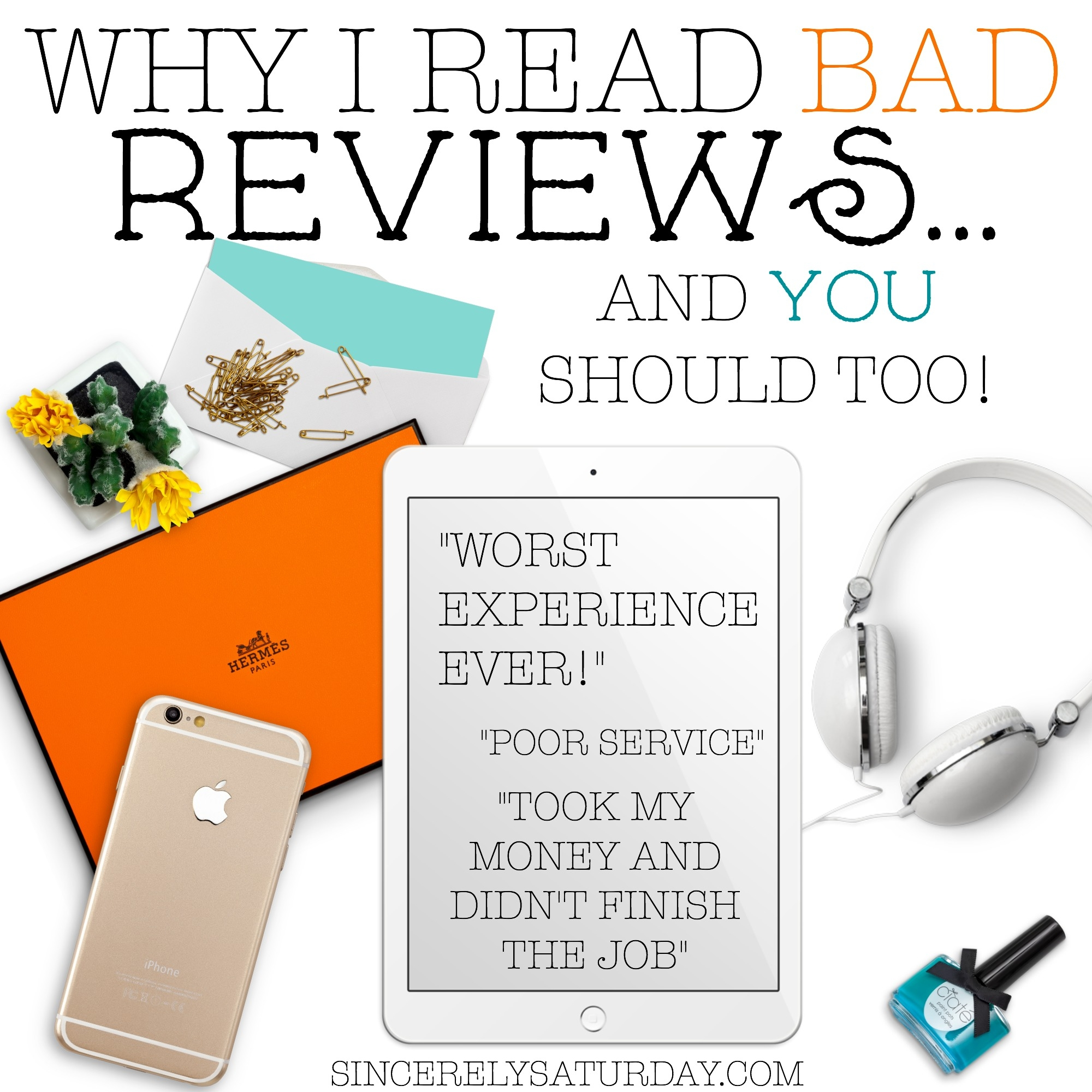 WHY I READ BAD REVIEWS AND YOU SHOULD TOO! NEGATIVE REVIEWS