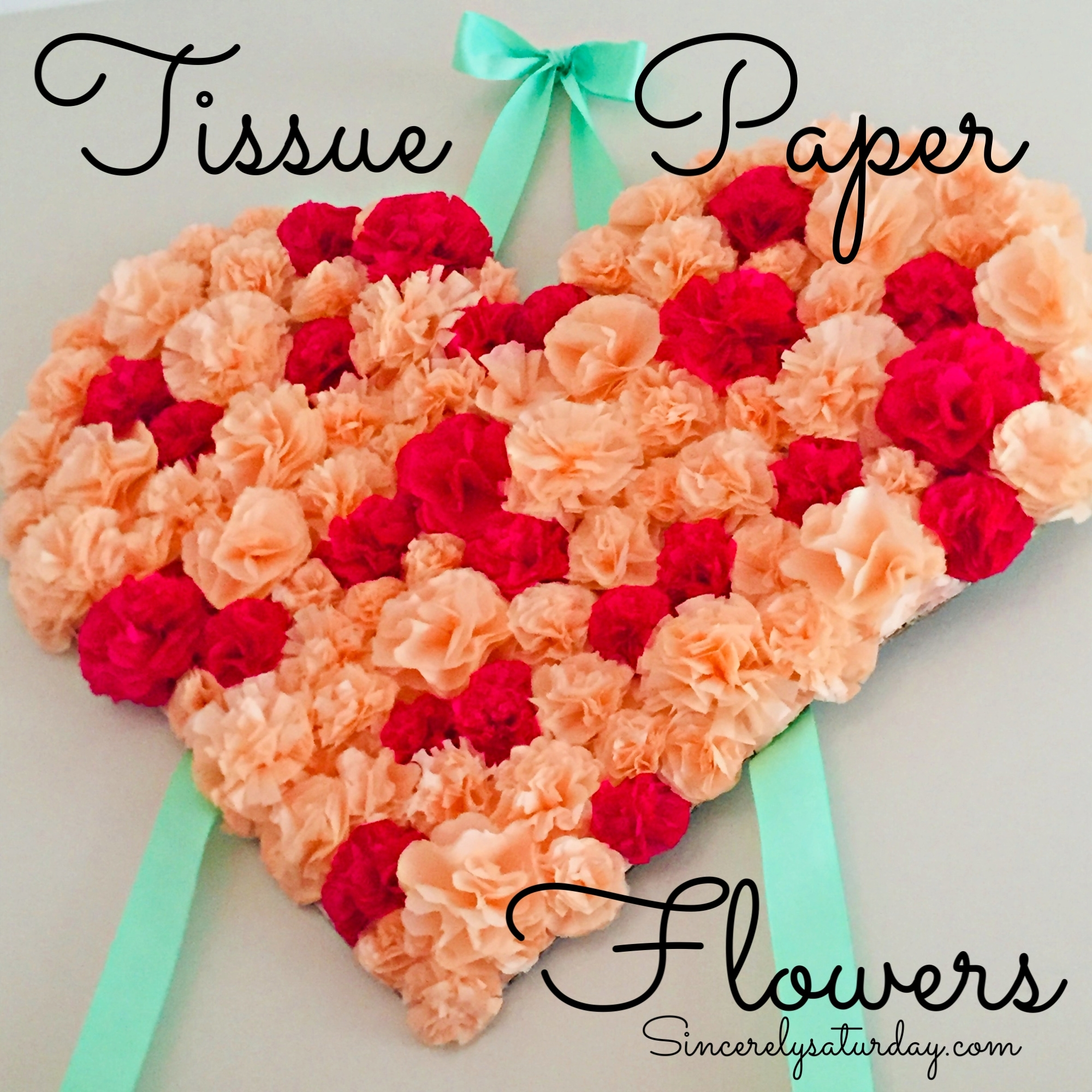 How To Make Tissue Paper Flowers Archives Sincerely Saturday