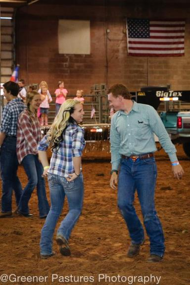 We danced in a rodeo last Summer