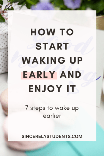 How to wake up earlier in the morning and enjoy it.
