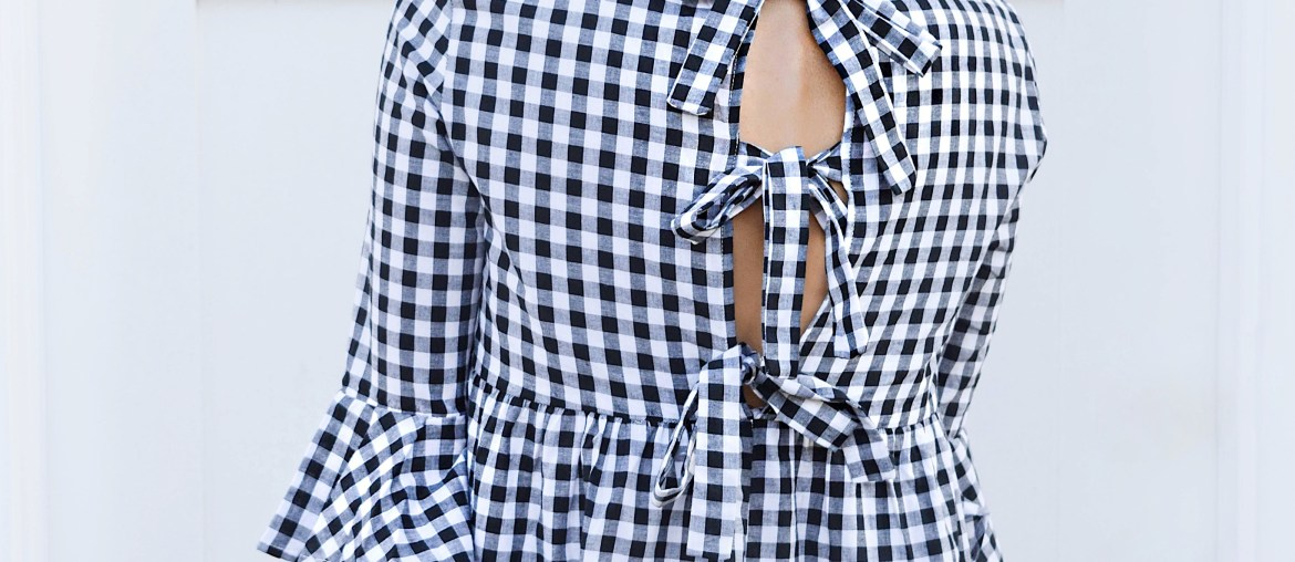 Sincerely-Styled-Bow-tie-open-back-gingham-dress-shein-blogger-brittany-seiden