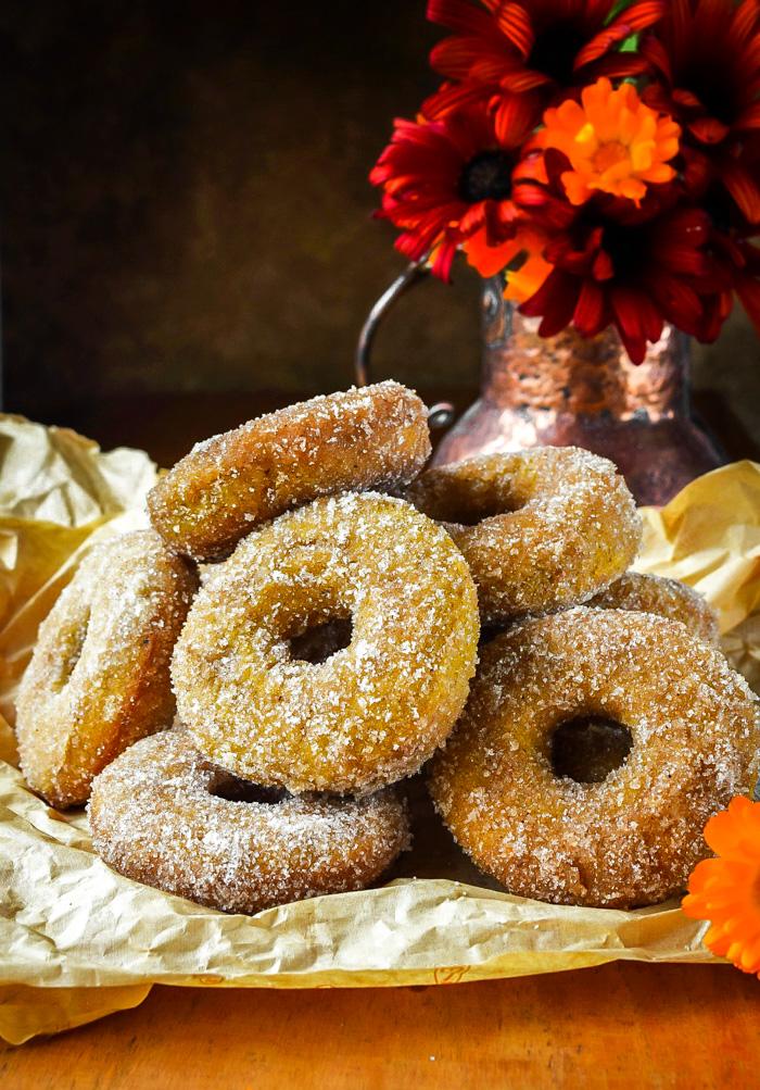 how to make the best vegan pumpkin donuts