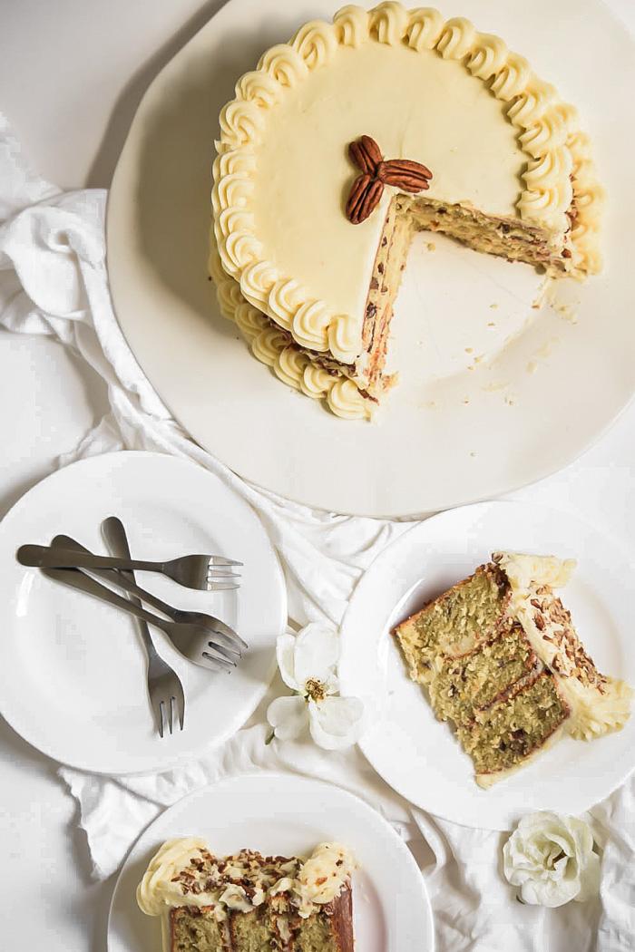 vegan italian wedding cake