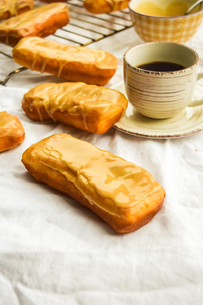vegan maple donuts