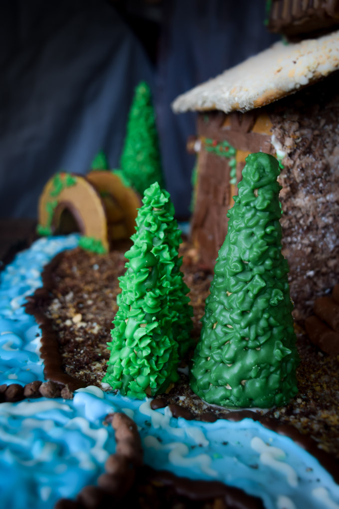 Gingerbread House 2015! Fairytale Forest Cottage (14)