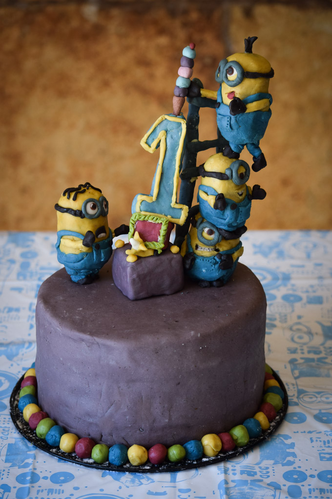 Ryder's First Birthday Minion Party (9)