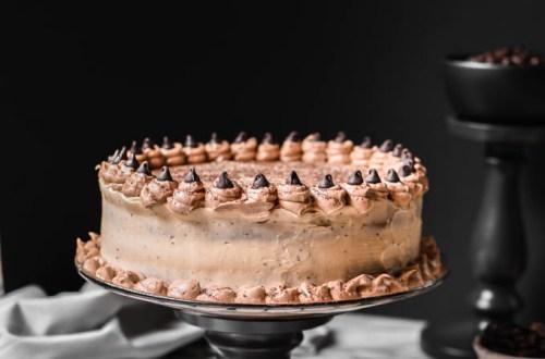 eggless cappuccino cake