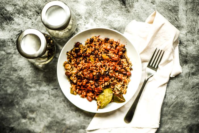One-Pan Cajun Black Beans & Rice